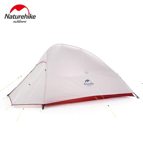 Naturehike 2019 New Upgraded CloudUp 2 Ultralight Tent Free Standing 20D Fabric Camping Tents For 2 Person With Free Mat