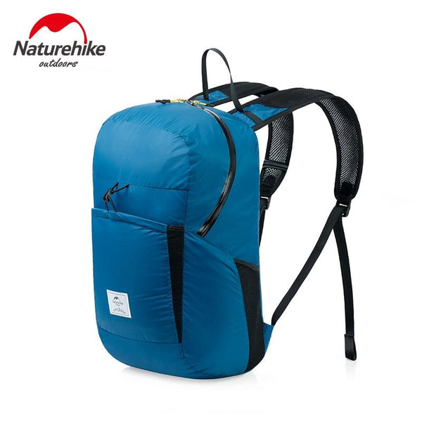 Naturehike Lightweight Foldable Waterproof Nylon Women Men Skin Backpack 18L Travel Outdoor Sports Camping Hiking Bag Rucksack