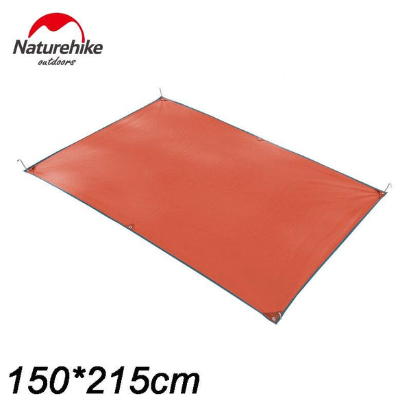 NatureHike Camping Mat 215*215cm Sleeping Pad 3-4 Person Outdoor Picnic Beach Tent Awning big size waterproof hiking mats
