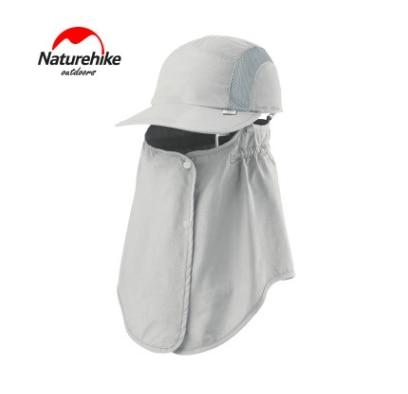 Naturehike Outdoor  Hat Beach Men Sunshade Breathable Quick Drying Caps Face Neck Protection Hiking Camping Hat