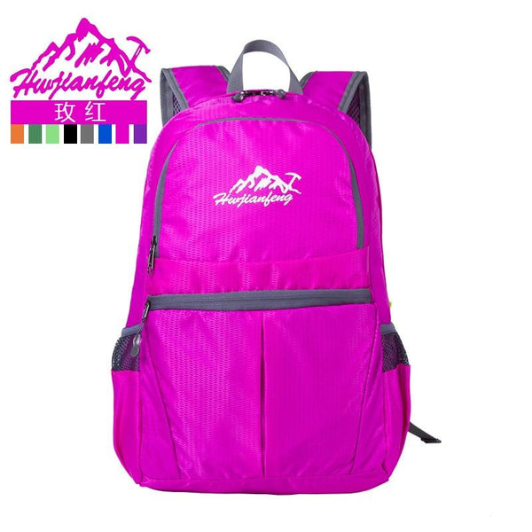 Outdoor Sports bag Travel Camping Backpacks Portable Lightweight BackPack Daily Travel Women Waterproof Folding Bag