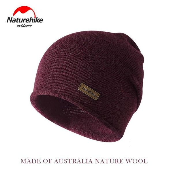 Naturehike Winter Knitted Wool Hat Keep warm in winter man women travel cap Outdoor Thick Caps camping hiking Hats Protable