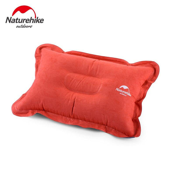 Naturehike Outdoor Hiking Pillow Polyester Portable Inflatable Pillow Lounge Nap Air Pillow NH