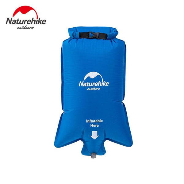 Naturehike Waterproof Inflatable Flotation Bag Portable Folding Moisture-proof Picnic Camping Hiking Swimming Life Buoy Air Bag