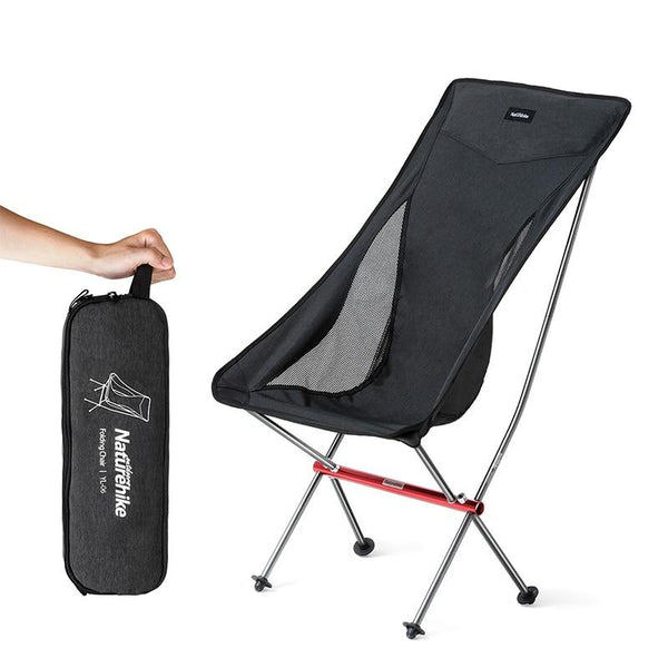 Naturehike Portable Ultralight Camping Chair Outdoor Folding Fishing Chair Aluminum alloy Beach Picnic Chair NH18Y060-Z