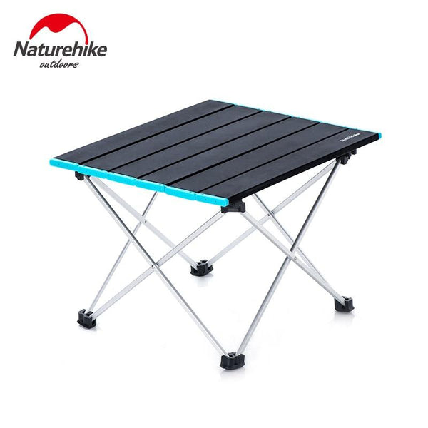 Naturehike Outdoor Folding Camping Table Portable Lightweight Aluminium Alloy Picnic Table Outdoor BBQ Picnic Camping Table