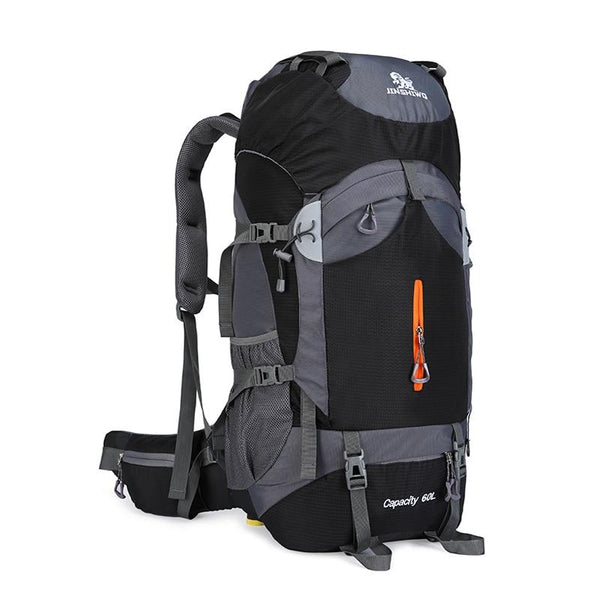 60L Large Capacity Camping Hiking Backpacks Lightweight Outdoor Sport Bag Waterproof Backpack Man Travel Back Pack Alloy Support