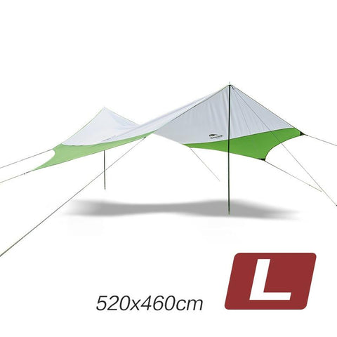 Naturehike Sun-shading Ultralight aluminum poles Outdoor Sunshade Camping Marquee Sun Fishing Tent sun shelter large tarp awning