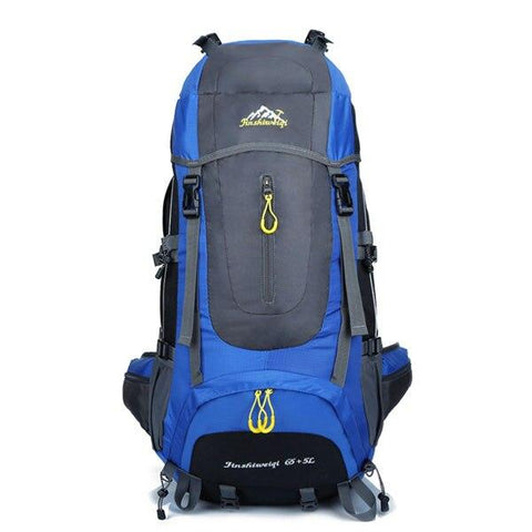 Large 70L Outdoor Backpack Unisex Travel Climbing Backpacks Waterproof Rucksack Nylon Camping Hiking Backpack