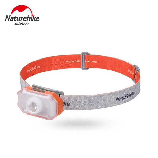 Naturehike outdoor LED headlamp fishing headlight 7-90 hours 4 modes tent lamp Torch flashlight camping lantern accessory