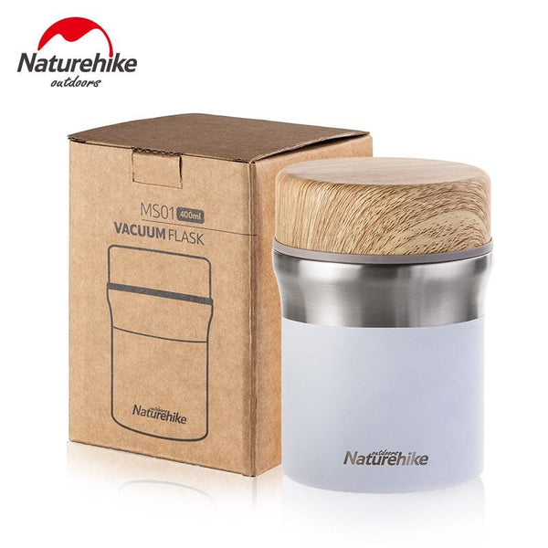 Naturehike Outdoor Thermal Lunch Box Tableware Vacuum Water Cup  300ml 400ml Bottle Stainless Steel Portable Picnic With Spoon