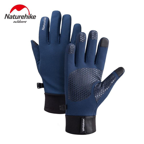 Naturehike Sports Gloves Winter Tactical Glove Antiskid Touch Screen Waterproof Warm Cycling Gloves Outdoor Hiking Bike Moto