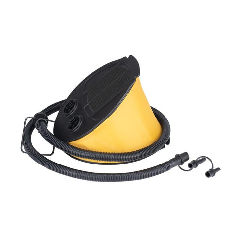 Naturehike Portable Outdoor Multifunction Inflatable Foot inflator Tent Bike Cycling Swimming Ring Accessories (Yellow)