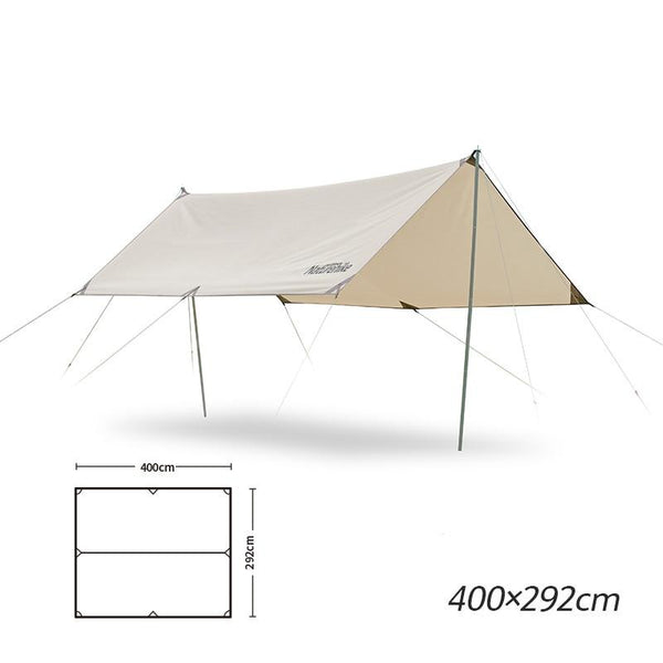 Naturehike Outdoor Ultra Light Camping Canopy 4-6 Person Family PU 3000+ Waterproof Awning Tarp Tent Portable Equipment
