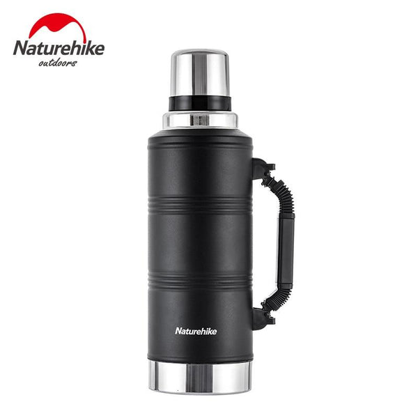 Naturehike 2019 New Large Capacity Outdoor Thermos Cup Sport Bottle 304 Stainless Steel Unisex Outdoor 1250ML 2200ML Thermos Cup
