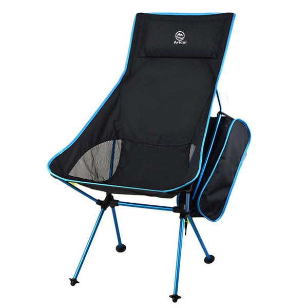 Aricxi Lightweight Compact Portable Outdoor Folding Fishing Picnic Chair Fold Up Beach Chair Foldable Camping Chair Seat