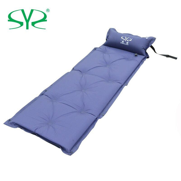 Outdoor Camping  single Double automatic inflatable cushion pad thickening inflatable bed mattress outdoor tent lunch dew