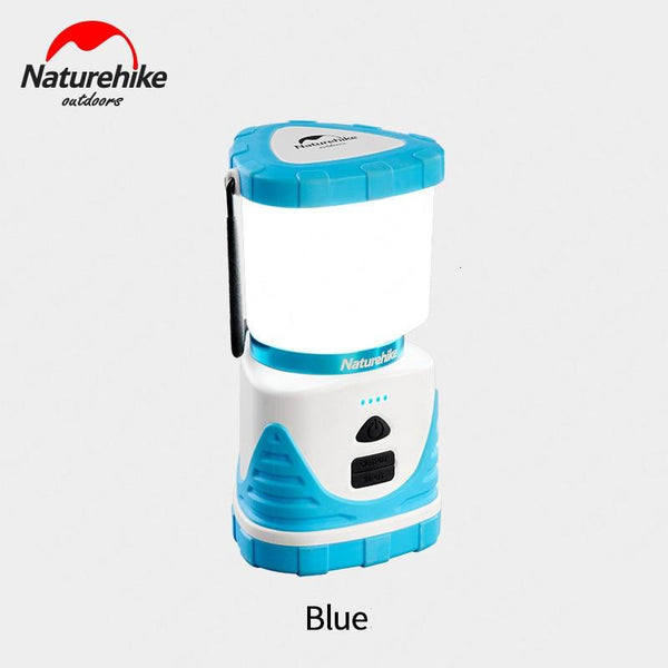 Naturehike 56 Seed LED Outdoor Lamp 6600mA Multifunctional Tricolor Camping Tent Lamp 22 Hour LED Camping Lamp Charging Treasure