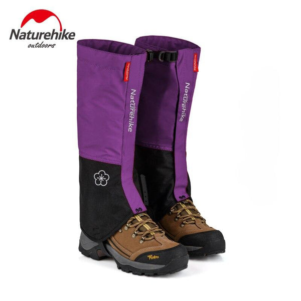 Naturehike Outdoor Snow Gaiters Walking Snowshoe Camping Mountaineering Hiking Hunting Trekking Waterproof Foot Ski Anti