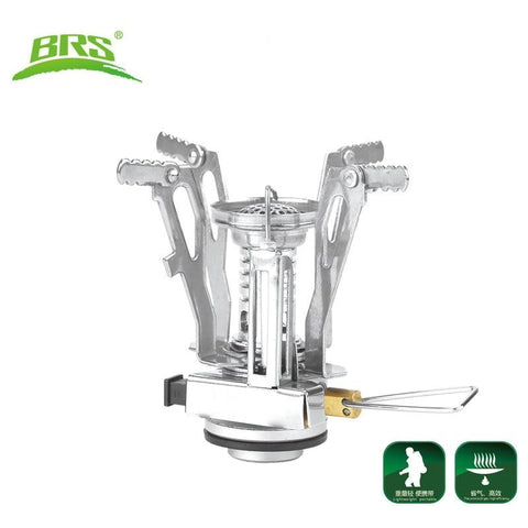 BRS Portable outdoor Gas stove camping gas burner Folding Electronic Stove Mountain Climbing Hiking