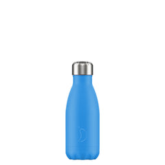Chillys 260ml Bottle Neon Blue