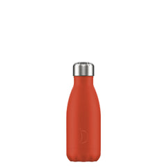 Chillys 260ml Bottle Neon Red