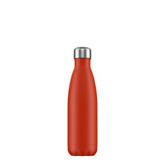 Chillys 500ml Bottle Neon Red