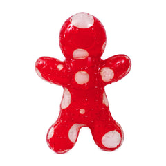 Petface Tough Rubber Gingerbread Man Toy