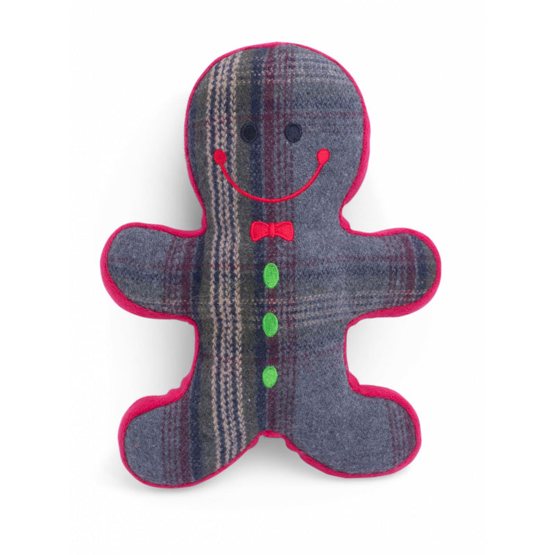 Petface Tweed Gingerbread Man