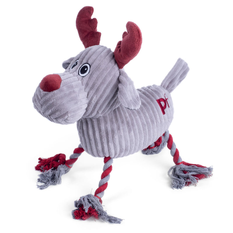 Petface Small Taupe Reindeer Rope Legs