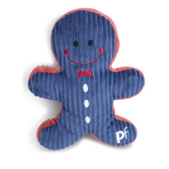 Petface Small Navy Gingerbread Man