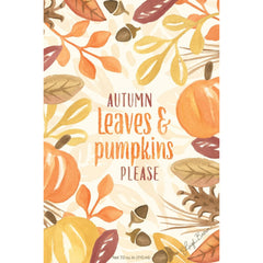 Heart of the Country Autumn Leaves & Pumpkins Please Scented Envelope