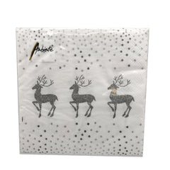 Ambiente Deer And Dots Lunch Napkins