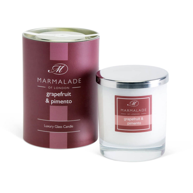 Marmalade Grapefruit & Pimento Glass Candle