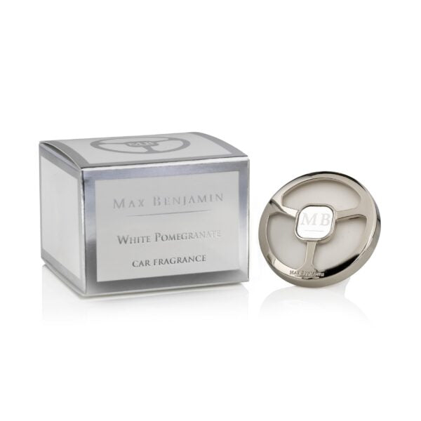 Max Benjamin Luxury White Pomegranate Car Fragrance