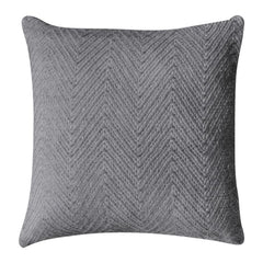 PET Chevron Cushion Grey