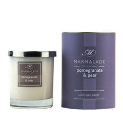 Marmalade Pomegranate & Pear Glass Candle