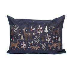Woodland Way Christmas Cushion