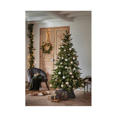 Pre-lit Allison Pine Artificial Christmas Tree (7ft) (Collection Only)