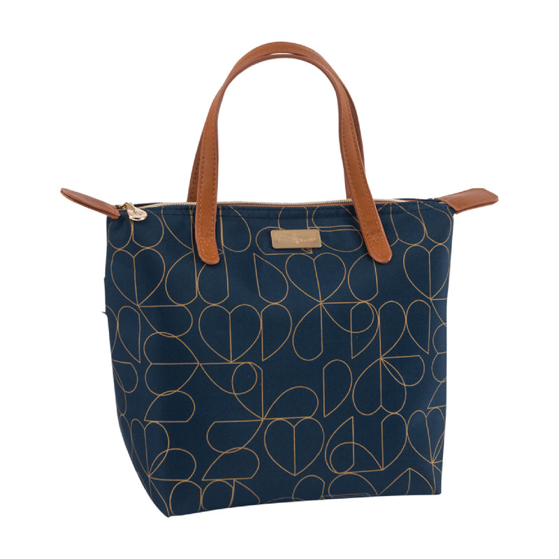 Beau and Elliot Navy Luxury Insulated Lunch Tote