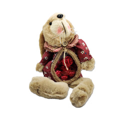 Enchante Cuddles Bunny Sweetie bag hanger - Red floral