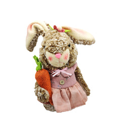 Enchante Easter Cuddles Bunny Figure - Pink