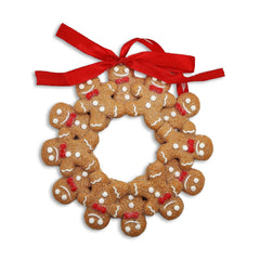 Gingerbread Wreath Christmas Decoration