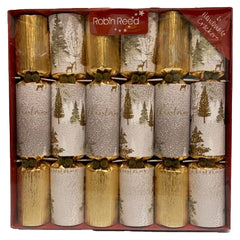 Robin Reed Christmas Enchanted Crackers (6 pack)