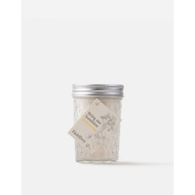 Field Day Jam Jar Buttercup Candle