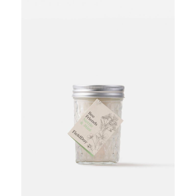 Field Day Jam Jar Nettle & Mint Candle