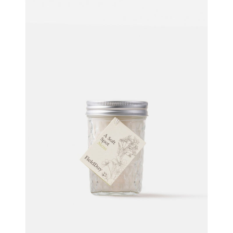 Field Day Jam Jar Moss Candle