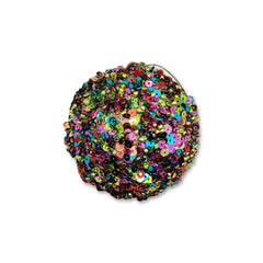 Christmas Multi-Coloured Round Sequin Hanging Decoration