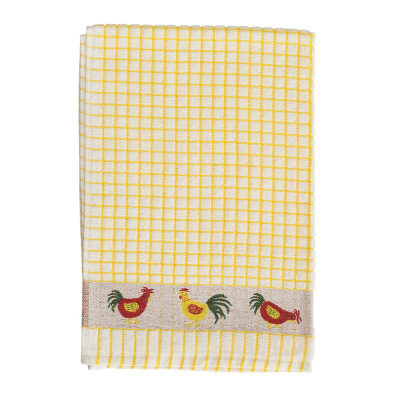 Samuel Lamont PoliDri Tea Towel Yellow Chicken