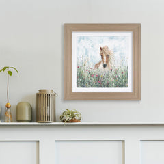 Poppy Framed Picture (Collection Only)